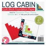 Log Cabin 6in Block Foundation Paper Pad