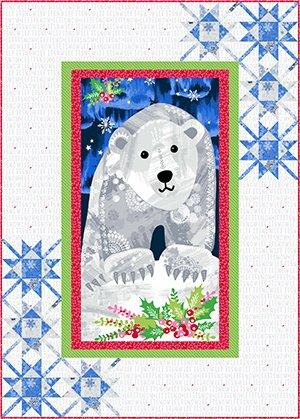Beary Christmas Quilt Kit