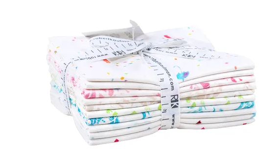 A Littl Rain by Wishwell Fat 1/4 Bundle-White