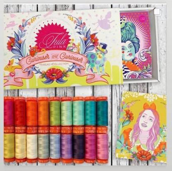 Tula Pink Curiouser & Curiouser Thread Set