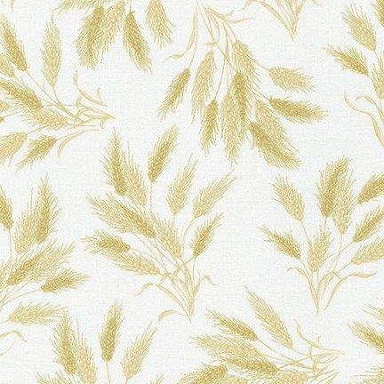 Autumn Beauties Metallic Wheat Ivory