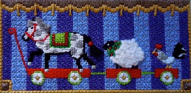 F3732 - Farm Animal Pull Toy