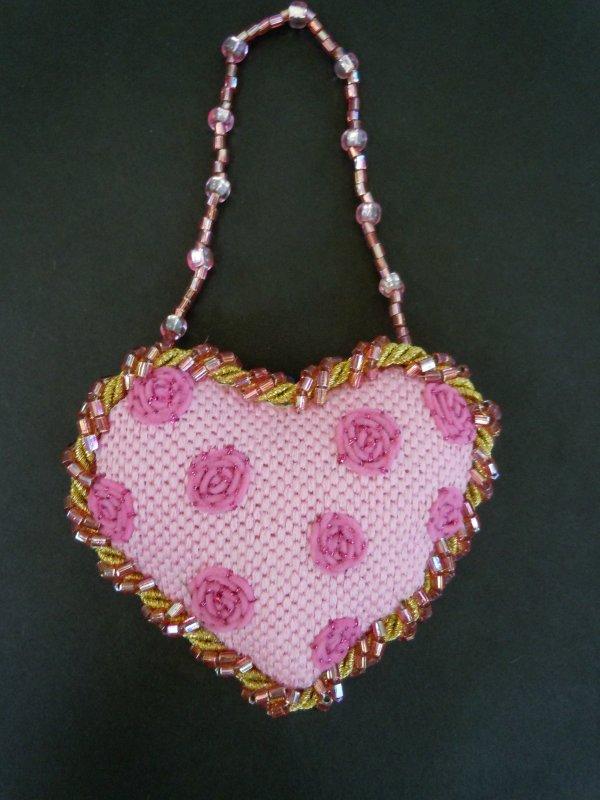 F3631 - Polka Dot Baby Heart