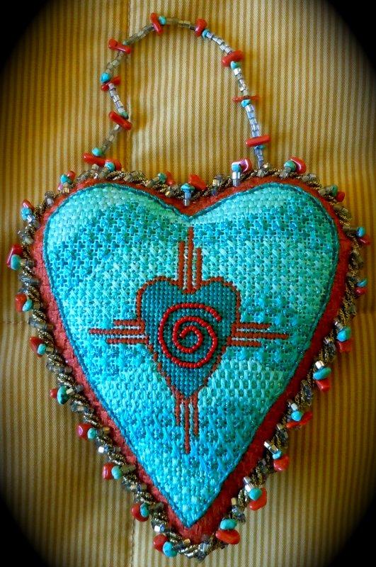 F3668 - Santa Fe Heart