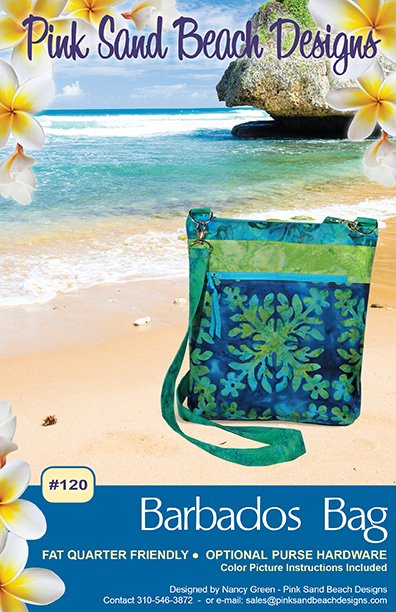 Barbados Bag by Pink Sand Beach Designs