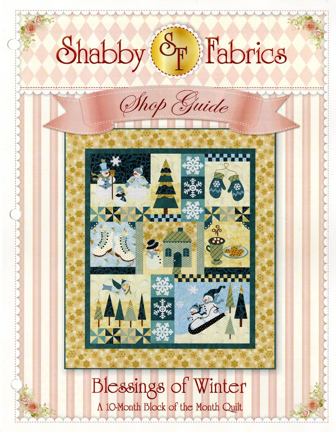 Blessing of Winter by Shabby Fabrics