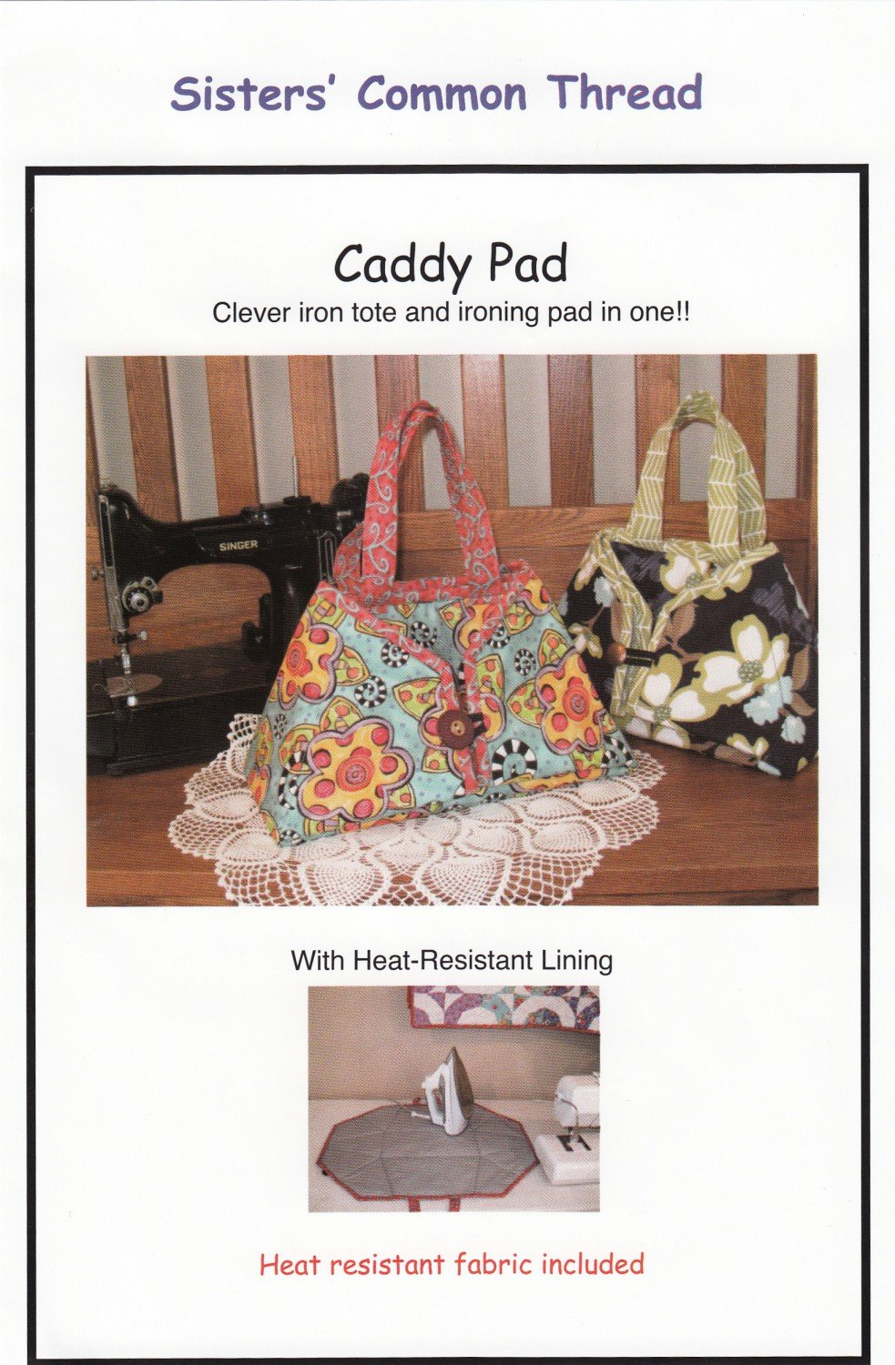 Caddy Pad by Sisters Common Thread
