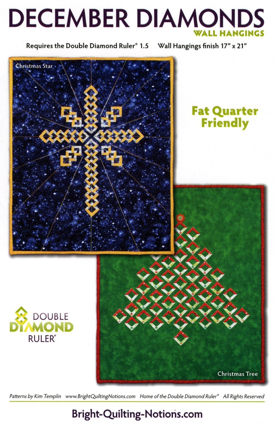 Decembe Diamonds by Bright Quilting Notions