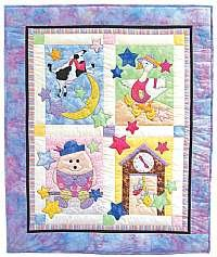 Fairy Tale Baby Quilt by Bobbie G. Designs