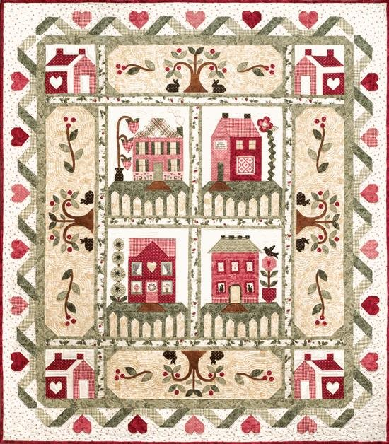 Heart and Home by The Quilt Company