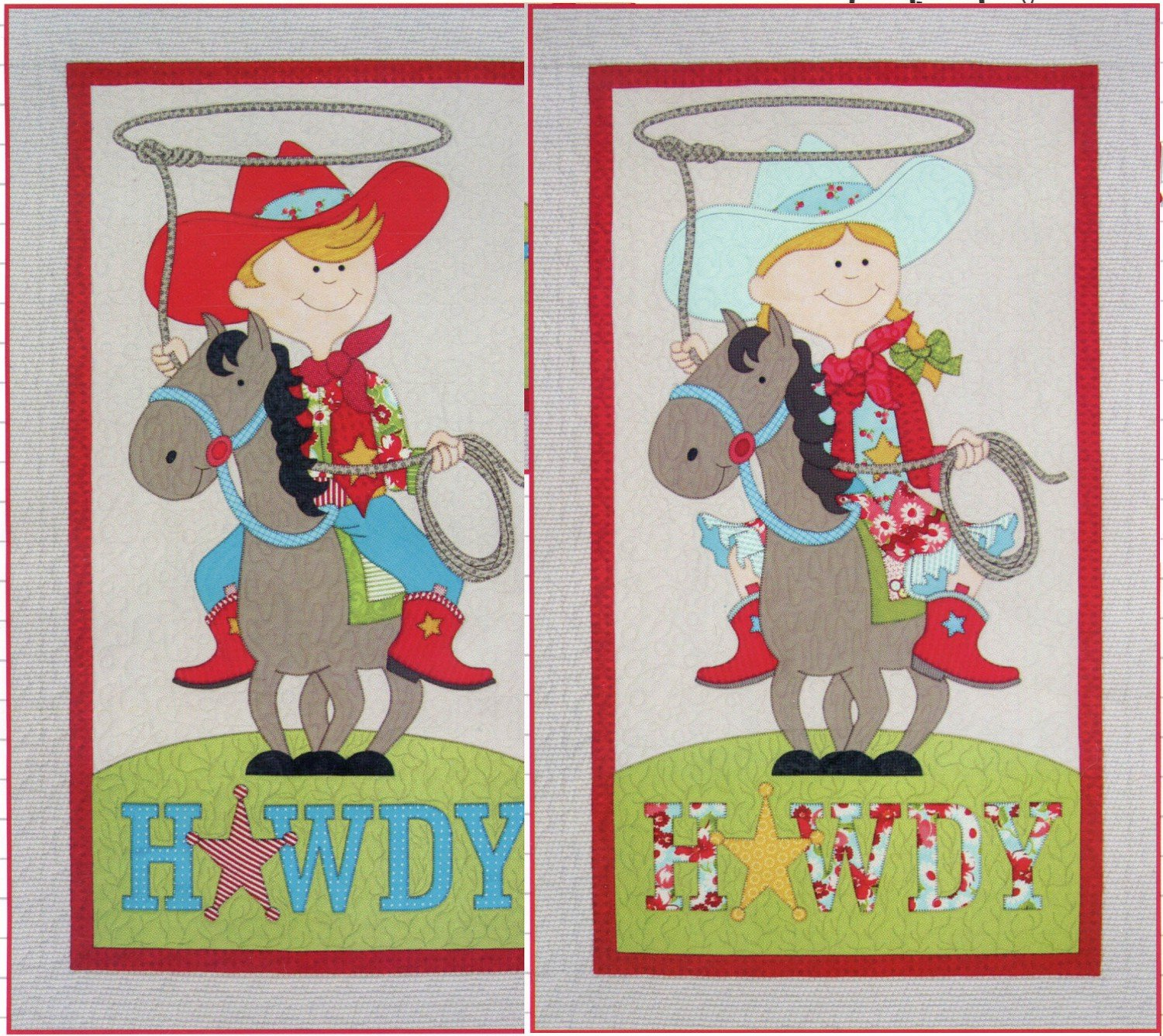 Little Cowboy & Cowgirl by Amy Bradley Designs