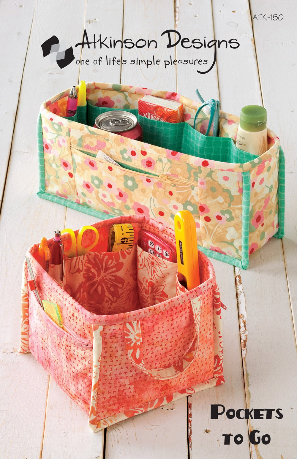Pockets to Go by Atkinson Designs