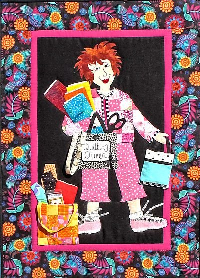 Quilting Queen by Bobbie G. Designs