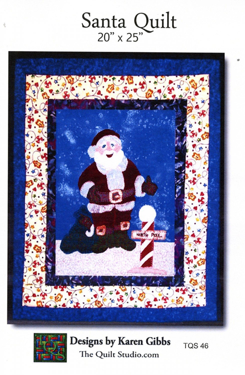 Santa Quilt by The Quilt Studio