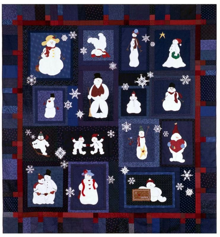 Snow Friends by With Needle and Thread