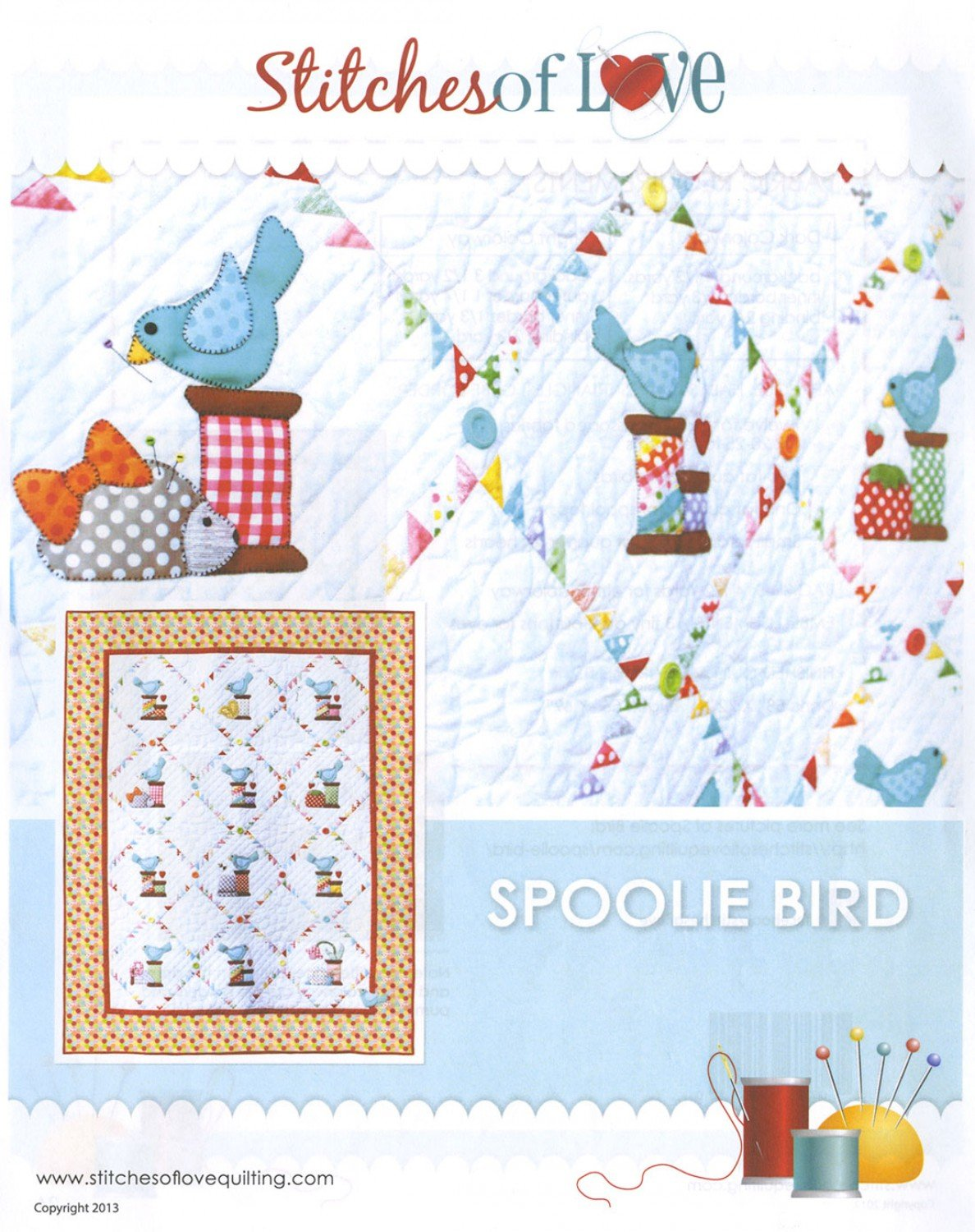 Spoolie Bird by Stitches of Love