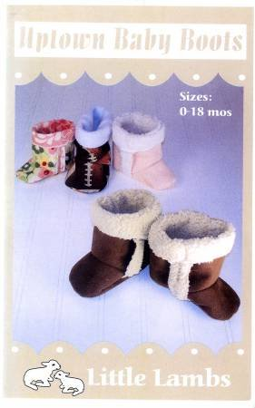 Uptown Baby Boots by Little Lambs