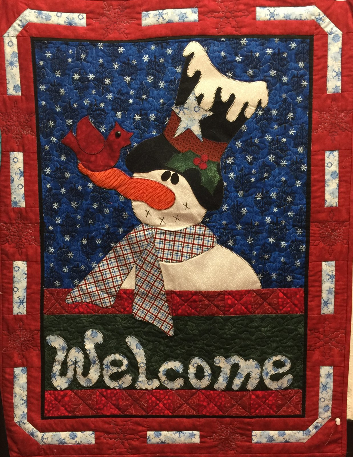 A Warm Winter Welcome by Pearl Louise Designs
