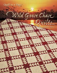 Wild Geese Chase Quilts from Quilt in a Day