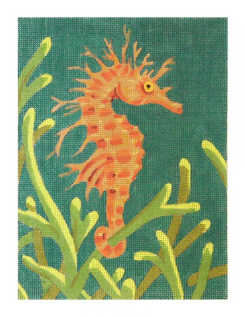 CL3629 - Orange Seahorse