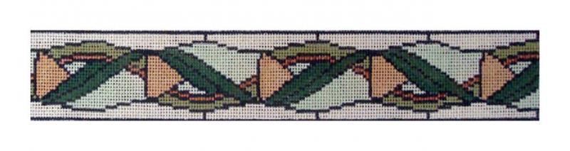 DH3654 - Woven Leaves Belt