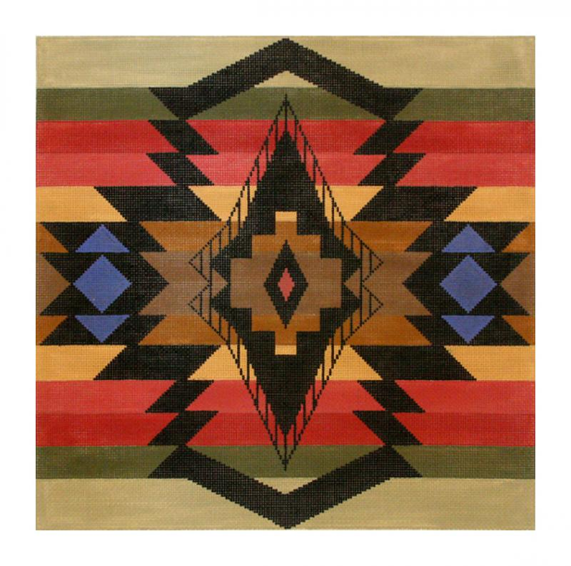 DH3668 - Diamond Banded Trade Blanket