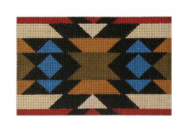 DH3668C - Diamond Banded Trade Blanket -