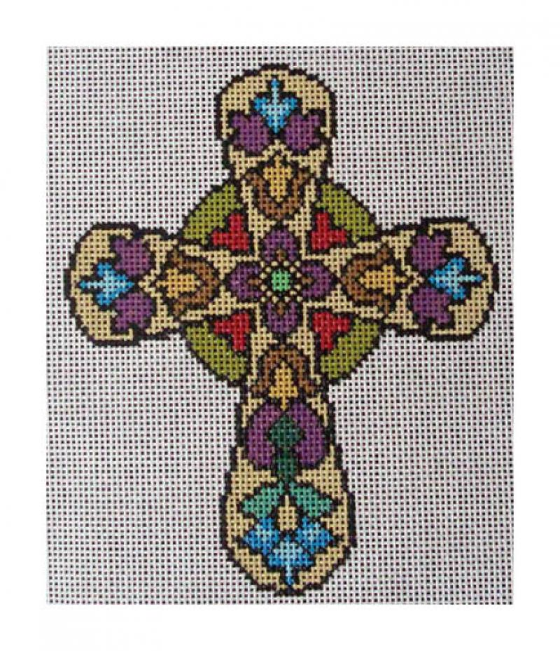 DH3704 - Floral Cross