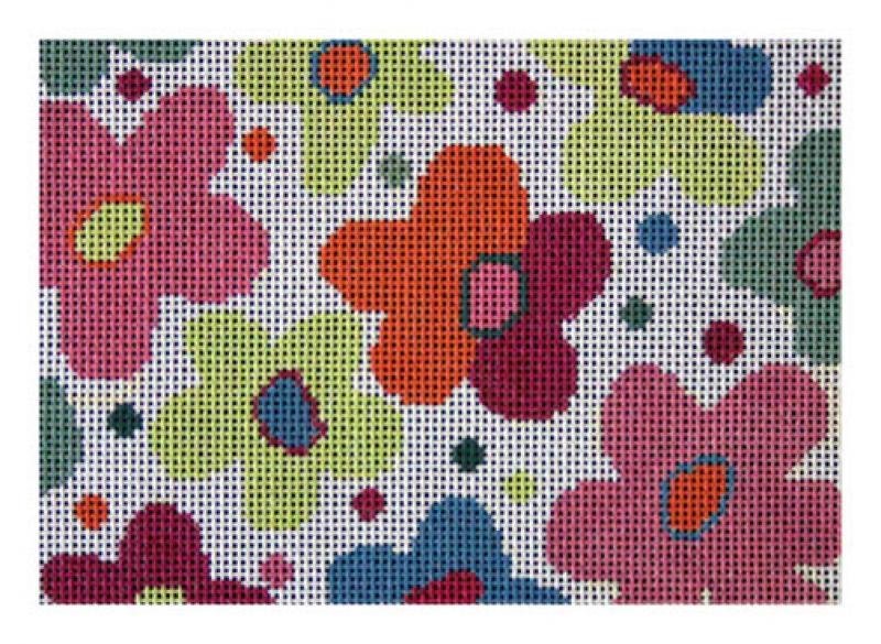F3601 - Straw Bag Floral