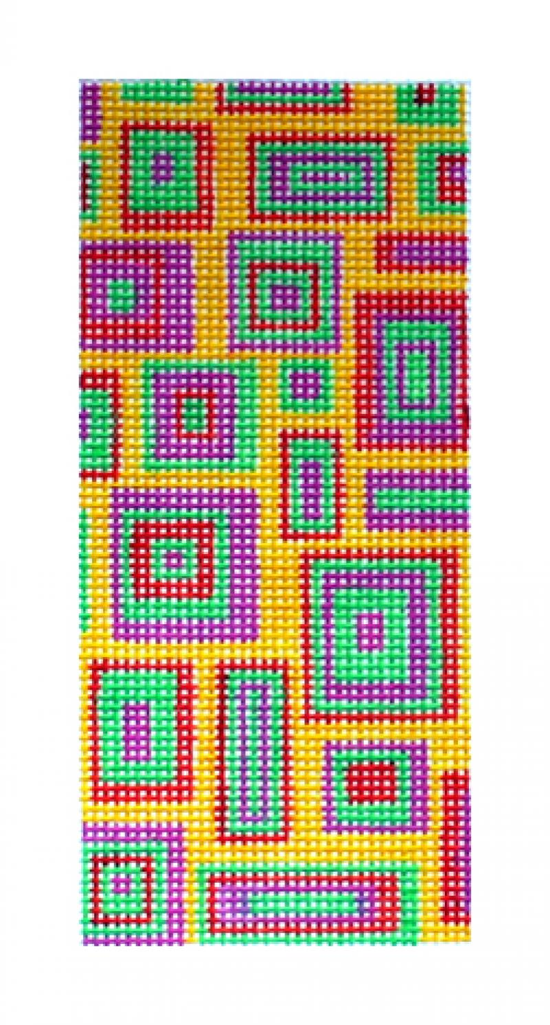 F3627 - Squares in Squares Glasscase