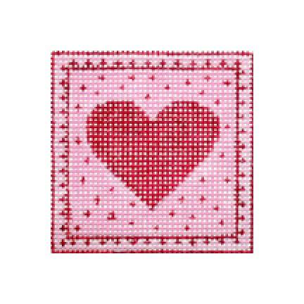 F3629 - Tiny Red Heart