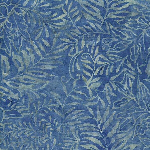 Island Batik Fern - Lt. Blue