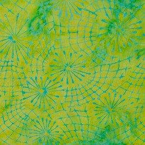 Batiks By Mirah Bermuda - Sunny Lime