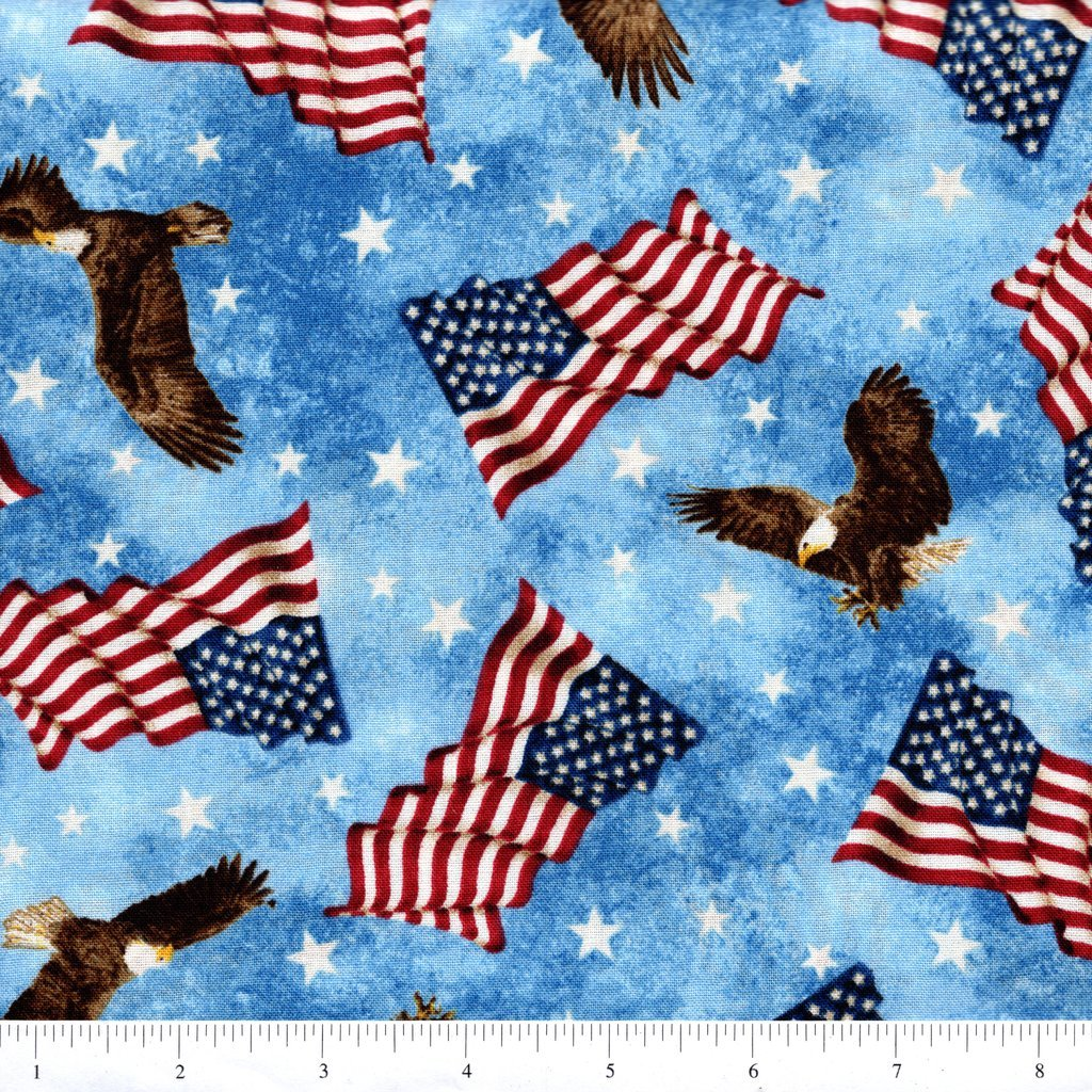 New Stars & Stripes Flags - Blue