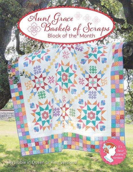 Aunt Grace's Basket of Scraps Quilt Kit