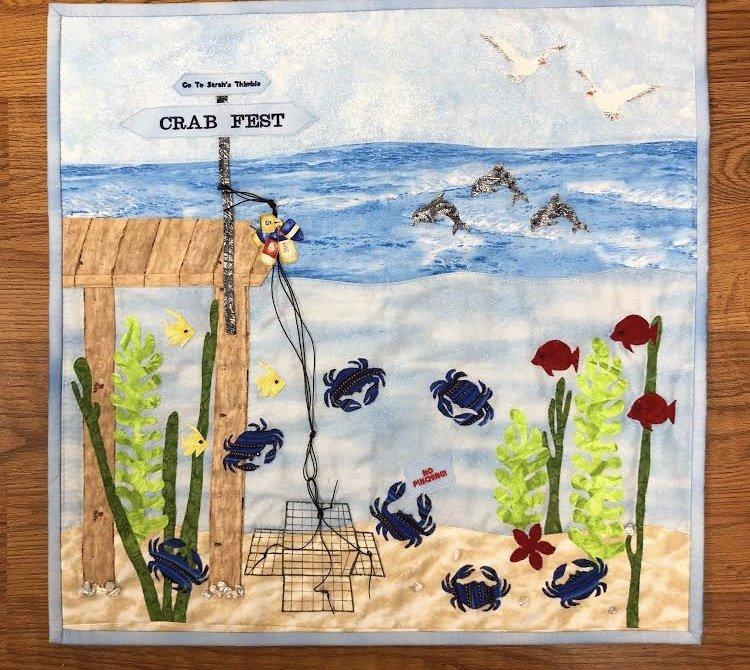 2019 Row by Row Crab Fest Kit w/ Pattern