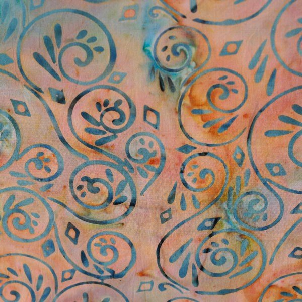 Batik By Mirah Bermuda Papaya - Punch