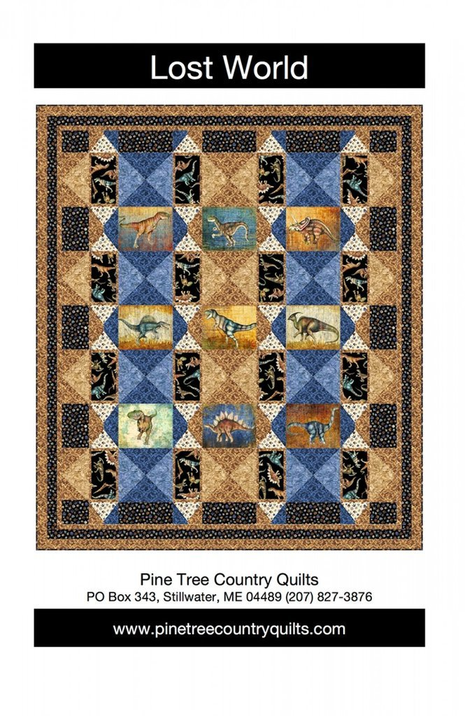 Lost World Quilt Kit