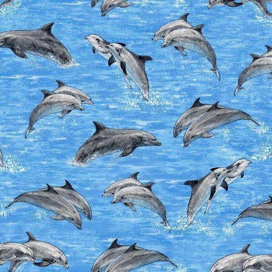 Make a Splash Jumpling Dolphins - Blue