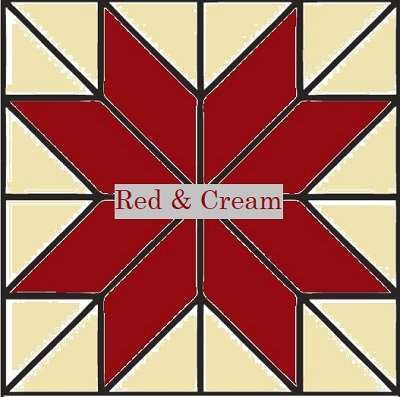 2020 Friendship Mystery Quilt Kit - Red & Cream