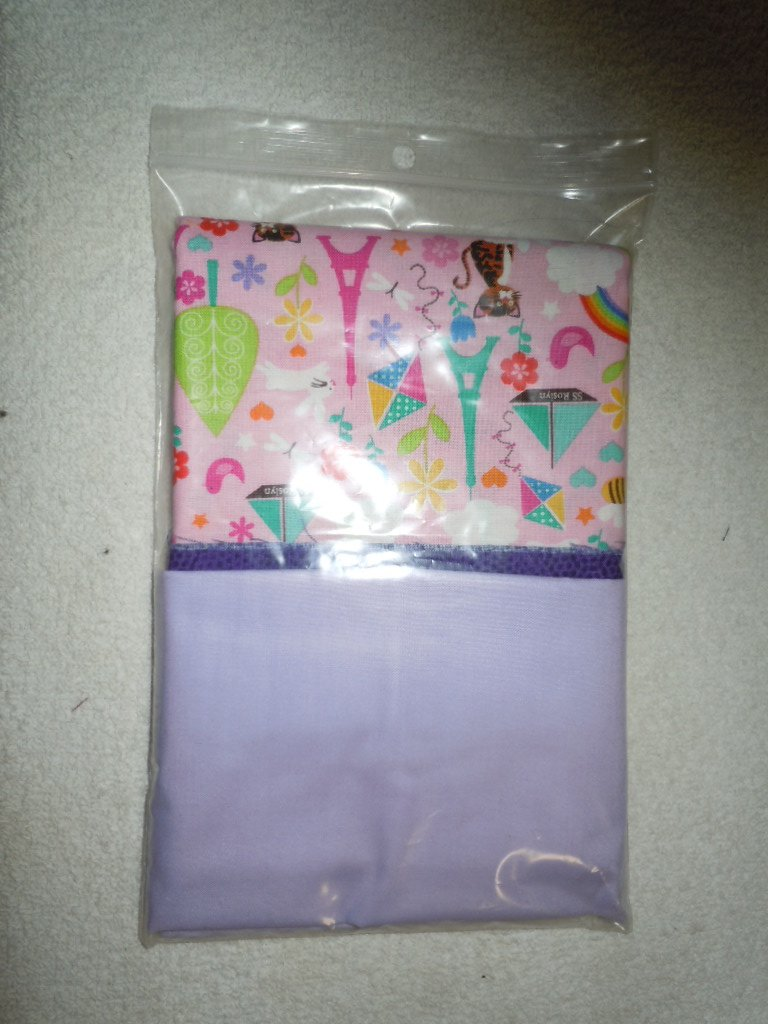 Pillowcase Kit - Purple Cuff Pink