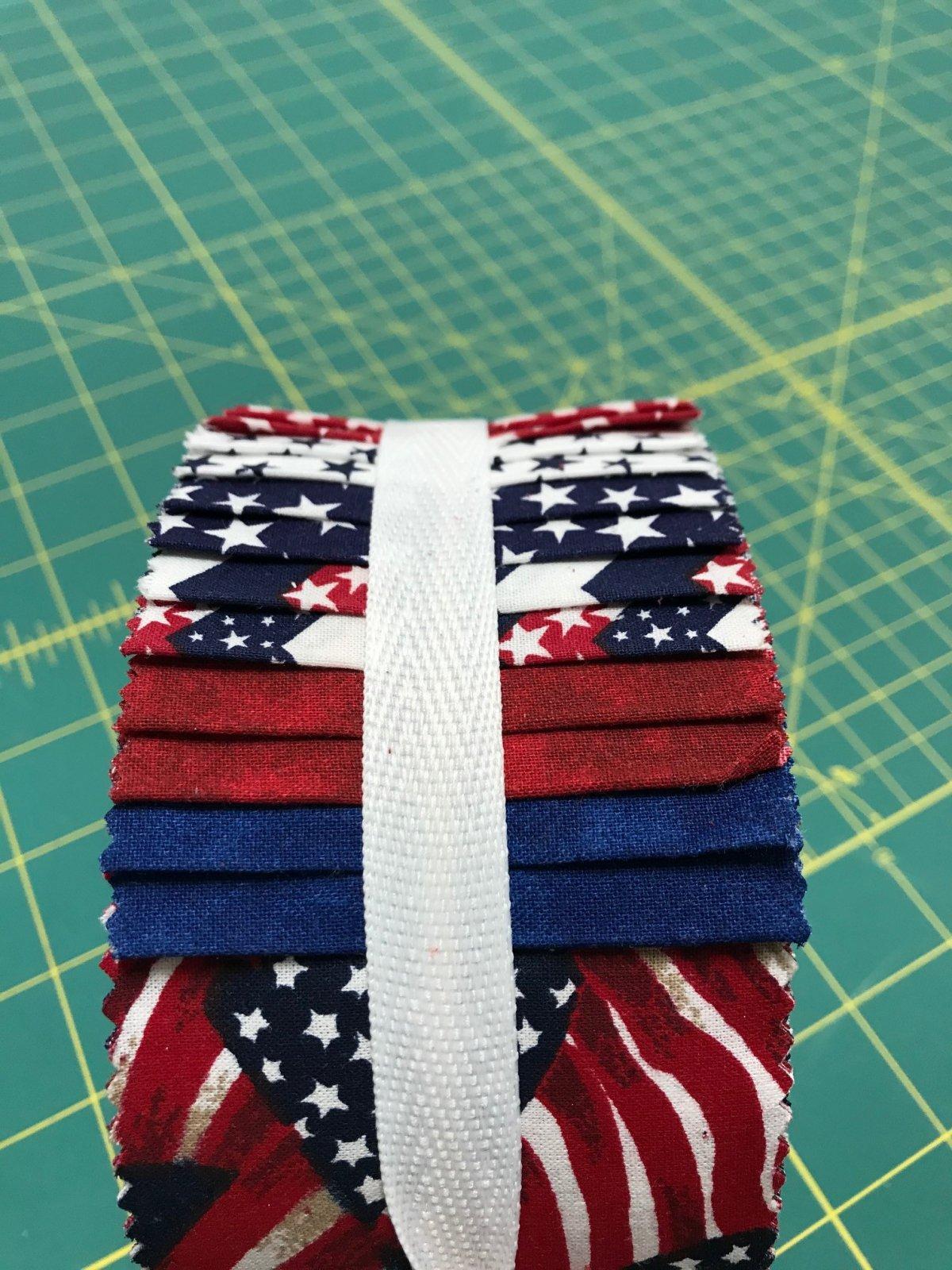 Patriotic Spiral Jelly Rolls
