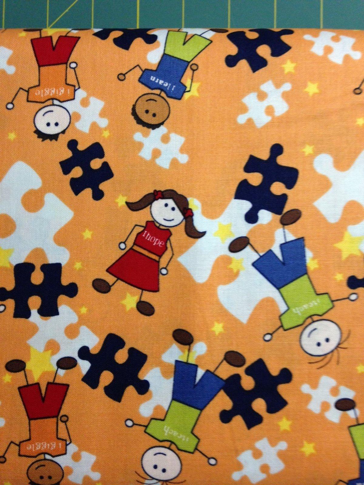 Pieces of Hope 2 Orange Kids Puzzle