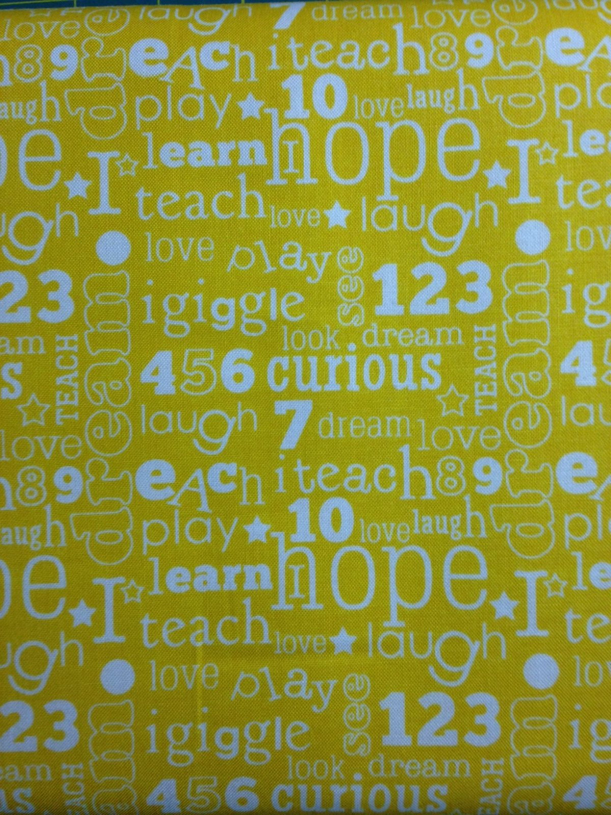 Pieces of Hope 2 Alphabet & Numbers Yellow