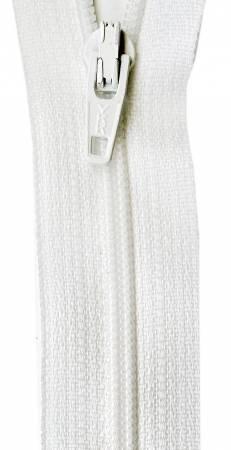 Marshmallow 14in Bulk YKK Zipper