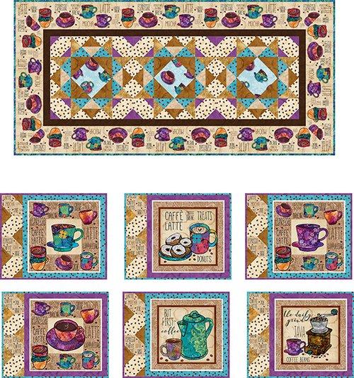 Coffee Break Table Set Patterns