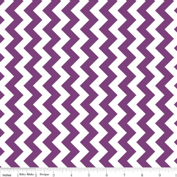 Chevron Purple Small