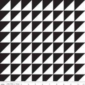 Sashing Stash Black Half Square Triangles