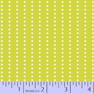 Savvy Swirls Lime Dots
