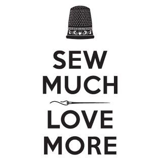 Window Decal Sew Much Love More